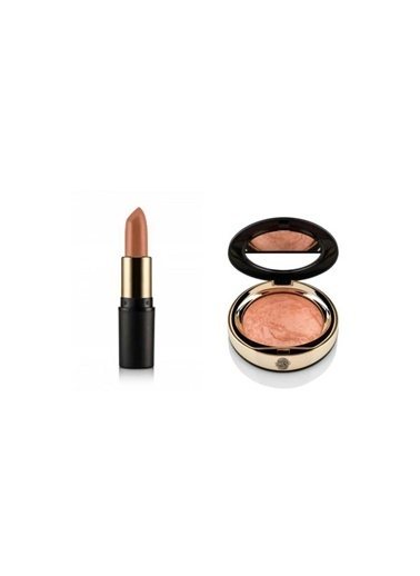 New Well Newwell Porselen Make-Up Ruj No:188 4 Gr+Terracota Porcelain Make- Up D-143 15 Gr Renkli